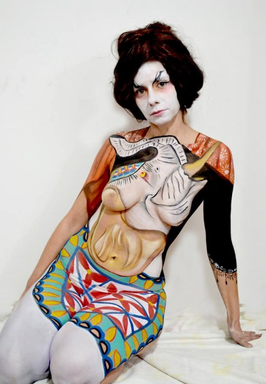 BODY PAINTING ORIENTE