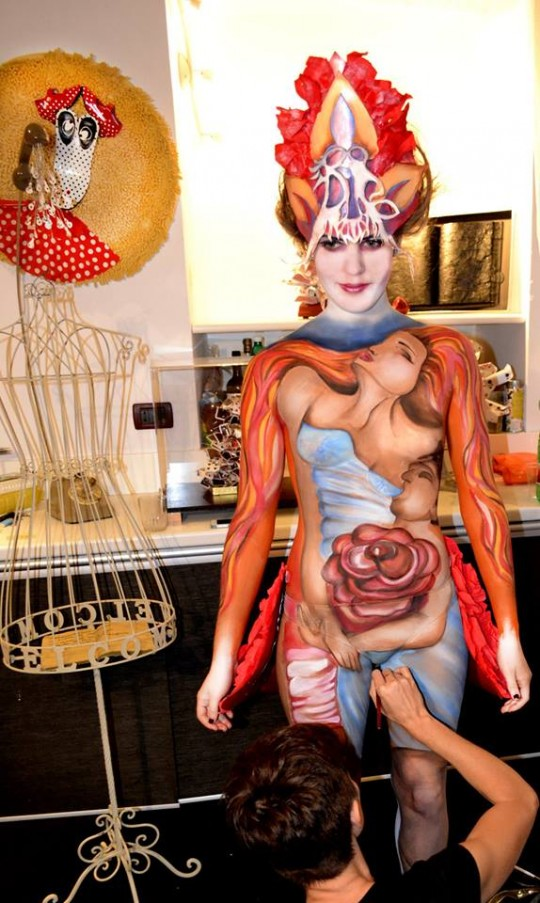 BODY PAINTING EROS E PASSIONE