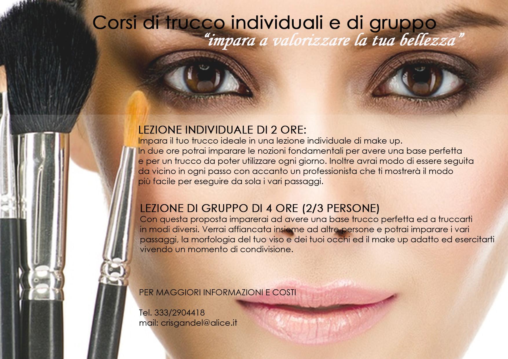authorized site sale online cheap price Corso trucco individuale, corso make up Brescia   CRISTINA ...