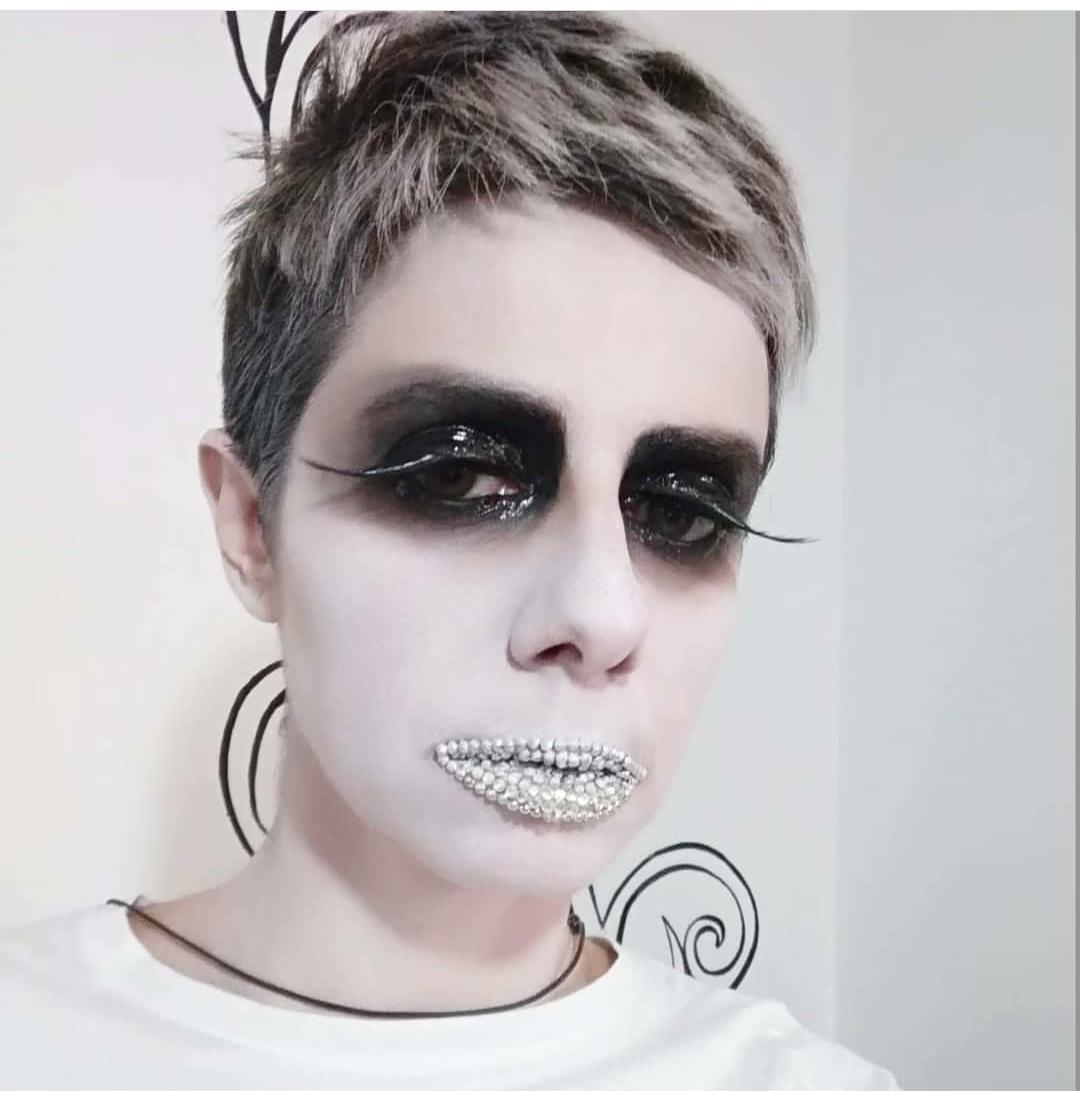 fashion make up Halloween