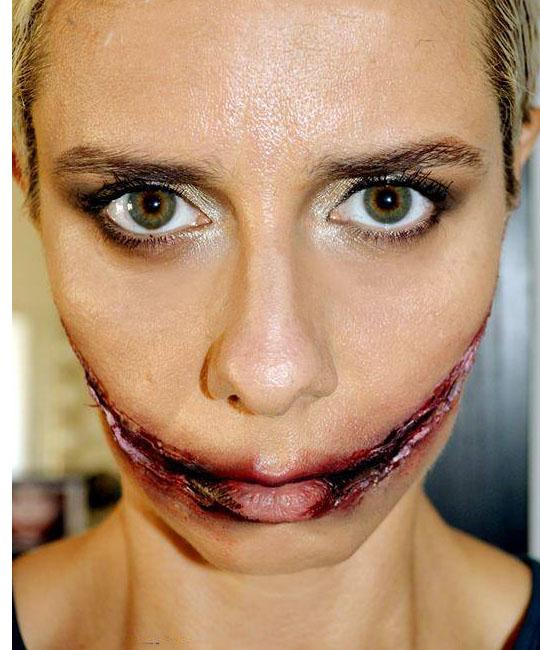 ferita make up Halloween